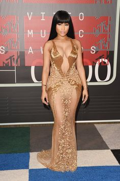 Pin for Later: The VMAs Have the Sexiest Looks We've Seen All Summer Nicki Minaj In Labourjoisie.