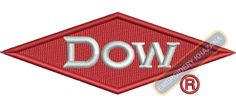 dow chemical logo embroidery design