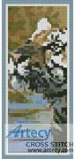 Bengal Tiger Bookmark Counted Cross Stitch Pattern http://www.artecyshop.com/index.php?main_page=product_info&cPath=26&products_id=1409
