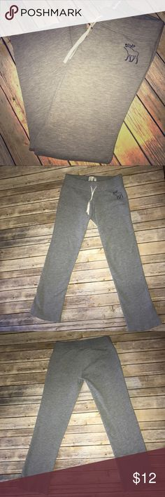 Abercrombie & Fitch sweatpants Abercrombie & Fitch gray sweatpants Abercrombie & Fitch Pants Leggings