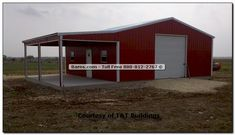 Red Pole Barn