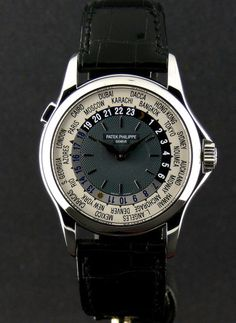 A $4,000,000.00 auction bid made Patek Philippe's Platinum World Time the most expensive watch in 2002.