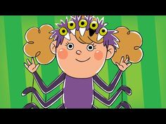 Five Creepy Spiders   Halloween Song   Super Simple Songs - YouTube