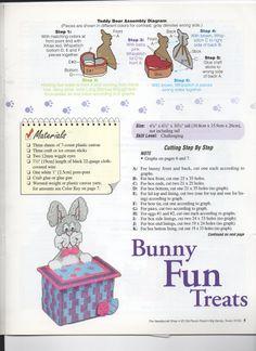 CANDY CRITTERS - TEDDY BAR TREATS 3 AND BUNNY FUN TREATS 1