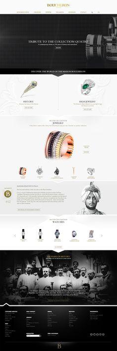Luxury, Graphic Web Design Layout.  Inspi.