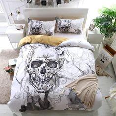 Bed Sets, Bed Duvet Covers, Duvet Cover Sets, Comforter Cover, Black White Bedding, White Duvet, Percale De Coton, Queen Sheets, King Bedding Sets