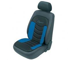 Der Sitzaufleger Gerini punktet durch ein besonders hoch geschnittenes Rückenteil sowie eine angenehme Polsterung und sorgt bei Fahrten mit Ihrem Auto für viel Behaglichkeit. Gaming Chair, Autos, Vehicles, Blue