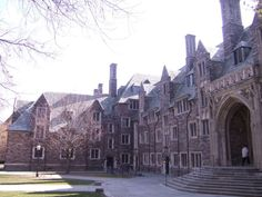 Princeton. I really miss this place. Someday I'll take John and show him around...I wonder if it's changed much in 13 years.