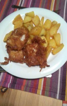 David poslal foto Fish and Chips, vypada to super!! Díky za foto!