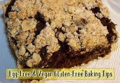Egg-Free and Vegan Gluten-Free Baking  vegan, plantbased, earth balance, made just right