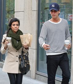 Kourtney Kardashian And Scott Disick- .. Love kourtneys look, and simply love her :}