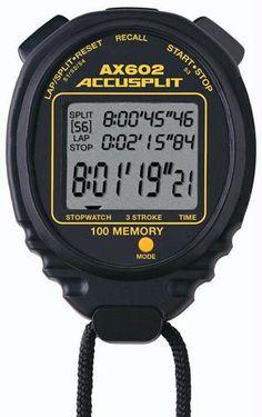 ACCUSPLIT 100 Memory Stopwatch - Black