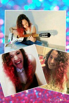 #Californianas #rosas #pink #pelo #hair  #rulos #curlyhair #crazy #me
