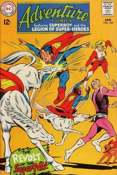 Adventure Comics (DC, 1938 series) #364 - Before our comic book heroes' values were replaced with darker and more cynical ones by modern writers.