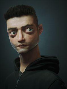 Title: Elliot  Name: Victor Hugo Queiroz   Country: Brazil  Software: 3ds max Octane Render Photoshop Substance Painter  Submitted: 2nd November 2016  Damn, it's been a while...! Last month I made a sketch of Rami Malekust for fun and to try something out of my comfort zone. Since I was also study...