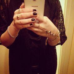 Arabic abaya and jewelleries ♡