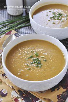 Creamy & delicious Butternut Squash Soup