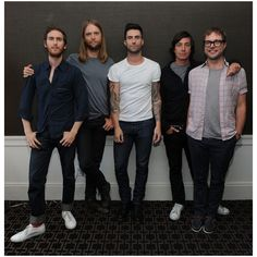 VEVO Summer Sets Concert Series Featuring Maroon 5 ❤ liked on Polyvore