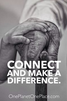 Connect and make a difference.