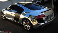Chrome Audi R8 shiny shiny!