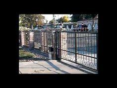 Viper TC9 automatic sliding gate opener in San Diego, California