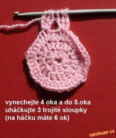 Materiál: 100 g MERINO (50 g/140 m), háček č. 3,5<br>Na obvod hlavy 52 cm.<br>Spotřeba materiálu je ...