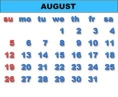 bHow to Make a Calendar in Excel 2007