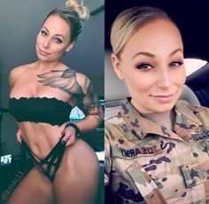 Uniform of the person is showing their profession but in casual wear, they look different. Here are photos of girls with and without uniform that will shock you. Stunning Girls, Beautiful Women, Sexy Bikini, Hot Girls, Military Girl, Female Soldier, Military Women, Strip, Girls Uniforms