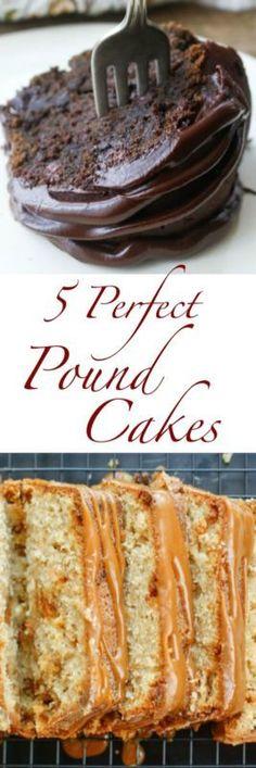 5 Perfect Pound Cakes | eBay