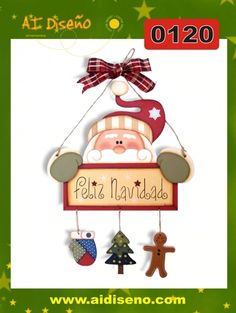 Santa Claus | maderacountry.mx Country Christmas, Christmas Snowman, All Things Christmas, Christmas Time, Xmas, Christmas Ornaments, Pintura Country, Winter Wood Crafts, Christmas Decorations