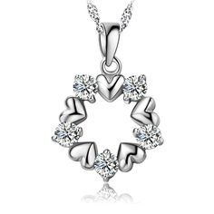 diamond pendant pendant necklace sterling pendant mother child pendant #pendants