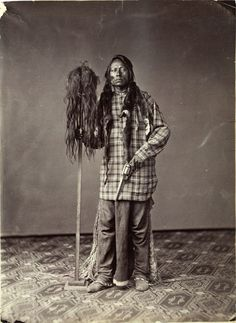 William Gunnison Chamberlain, Ute Medicine Man. 1895.  Pinned by indus® in honor of the indigenous people of North America who have influenced our indigenous medicine and spirituality by virtue of their being a member of a tribe from the Western Region through the Plains including the beginning of time until tomorrow.
