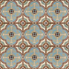 Lovely French Clover Antique tiles.
