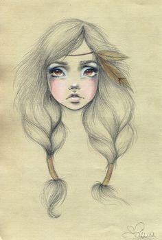 Clarissa Paiva's illustration...I wish i could draw like this.