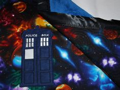 Doctor Who Baby Blanket! - Arctic Rose Boutique