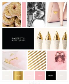 Sparkle and Shine Darling Brand Color Inspiration - Saffron Avenue