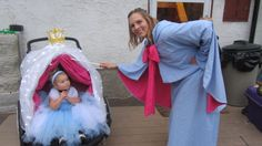 Cinderella/Carriage/Fairy DYI Godmother Halloween Costume