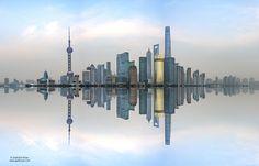 Popular on 500px : Shanghai Skyline China by sakhanphotography