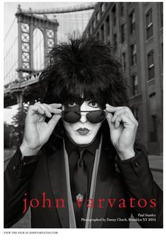 John Varvatos ad campaign featuring KISS for Spring Paul Stanley photographed in Brooklyn by Danny Clinch. Paul Stanley, John Varvatos, Glam Metal, Las Vegas Fashion, El Rock And Roll, Vinnie Vincent, Kiss Images, Eric Carr, Peter Criss