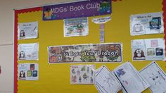 Inspire your class to read with a book club display!