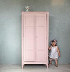 Petite+armoire+parisienne+rose+ancien