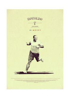 Soccer Legends Poster on Behance