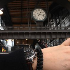 Regretting wasted time is more wasted time! #hamburg #menjewelry #mensbracelet #luxury