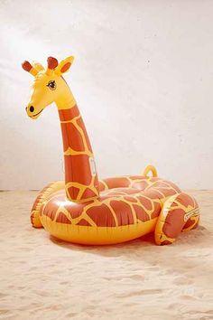 Giant Giraffe Pool Float