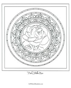 Rose Mandala Coloring Pages. 30 Rose Mandala Coloring Pages. Cute Fox with Roses Foxes Adult Coloring Pages Ninjago Coloring Pages, Animal Coloring Pages, Coloring Book Pages, Printable Coloring Pages, Coloring Pages For Kids, Coloring Sheets, Pattern Coloring Pages, Mandala Coloring Pages, Mandala Printable