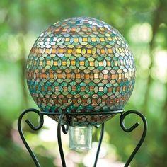 Petals-Marrakech Gazing Ball by Bird Brain.....gorgeous!!