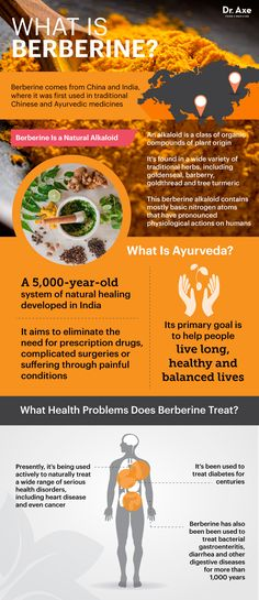 I use berberines for a variety of things. They are especially good for food-borne illness. -- What is berberine? | Dr. Axe