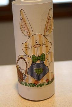 Repurposing Coffee Creamer Bottles- Kids Easy Easter Craft