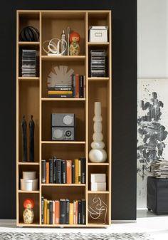 DAFINA Regal/Bücherregal Buche Design | günstig Möbel online kaufen - Vieles Sofort lieferbar und in 24 Stunden versandbereit