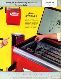 I remember a store that had a Coke machine like this.